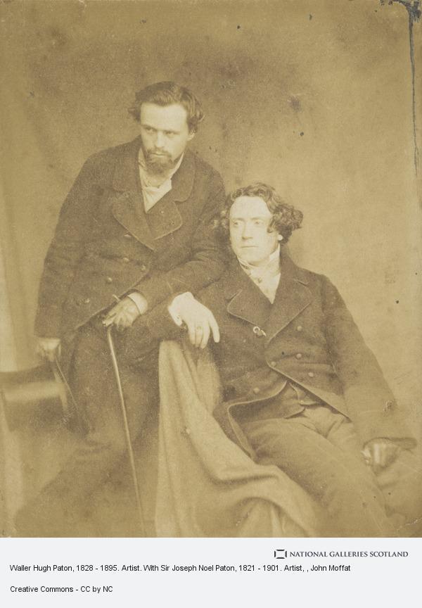 John Moffat, Waller Hugh Paton, 1828 - 1895. Artist. With Sir Joseph Noel Paton, 1821 - 1901. Artist