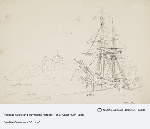 Waller Hugh Paton, Rossead Castle and Burntisland Harbour