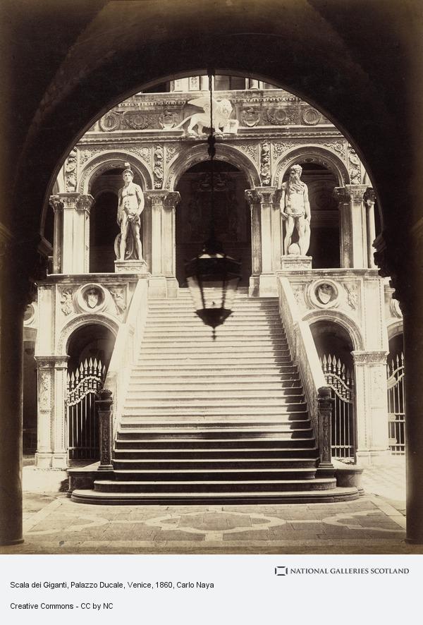 Carlo Naya, Scala dei Giganti, Palazzo Ducale, Venice