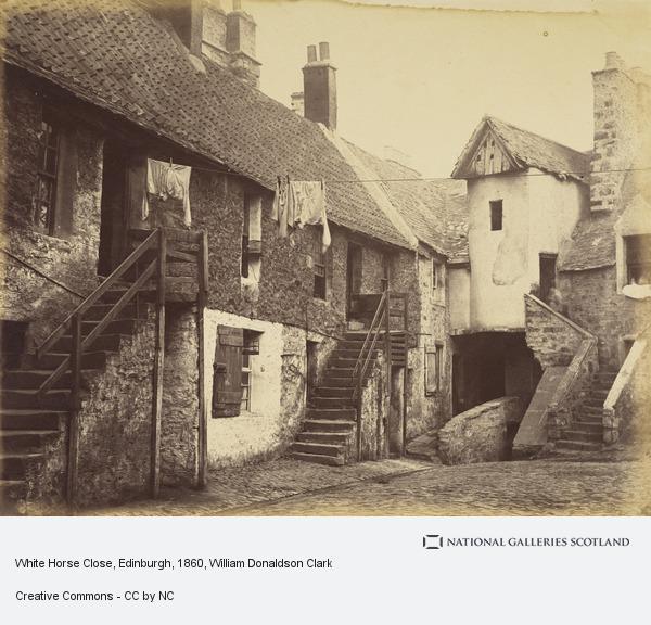 William Donaldson Clark, White Horse Close, Edinburgh