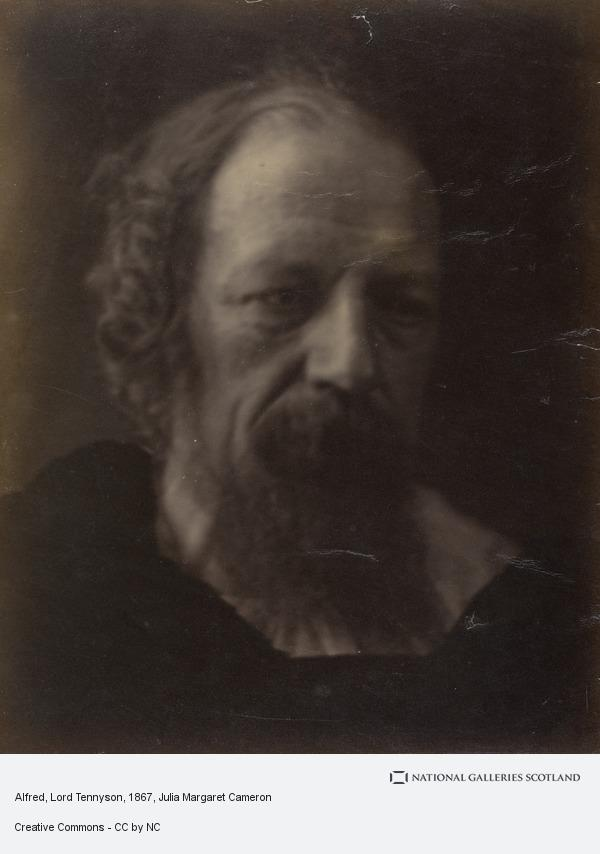 Julia Margaret Cameron, Alfred, Lord Tennyson