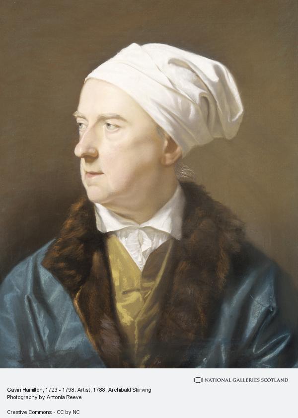Archibald Skirving, Gavin Hamilton, 1723 - 1798. Artist