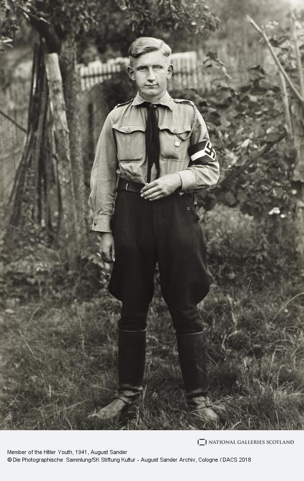 August Sander, Member of the Hitler Youth, c.1941 (about 1941)