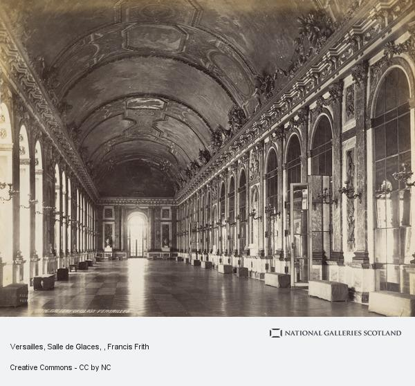 Francis Frith, Versailles, Salle de Glaces