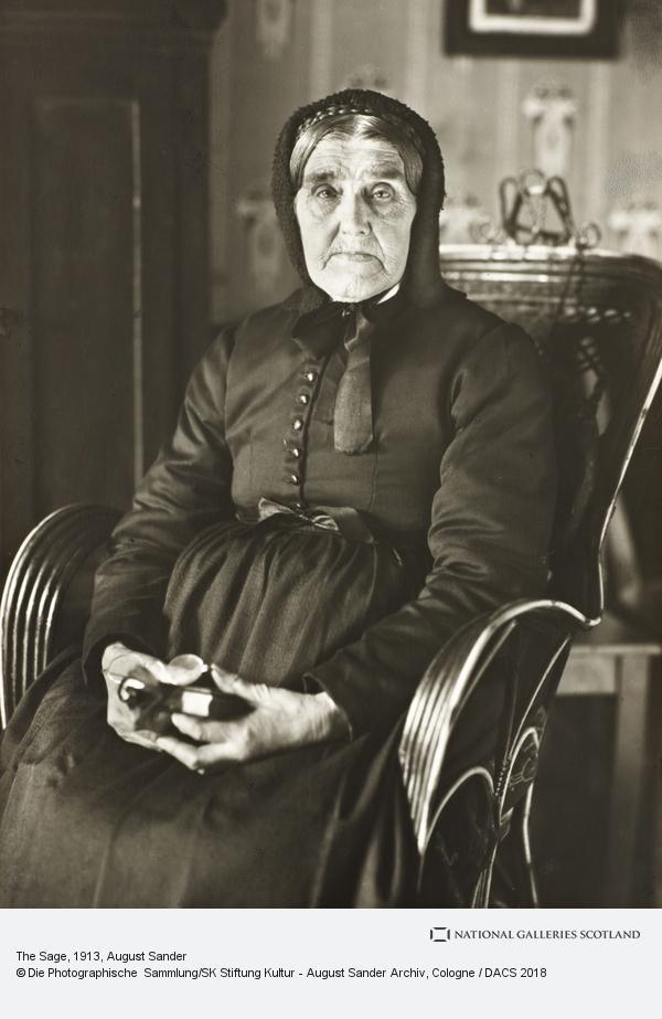 August Sander, The Sage, 1913 (1913)