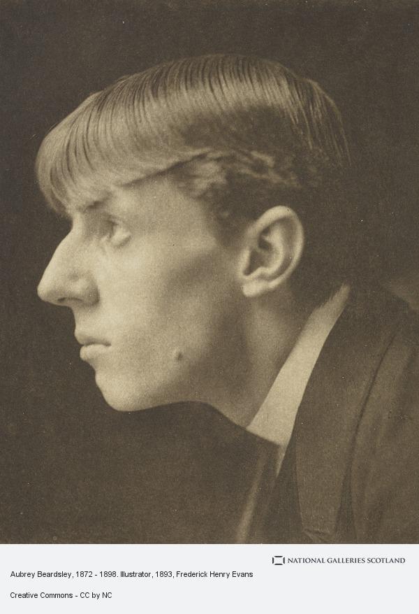 Frederick Henry Evans, Aubrey Beardsley, 1872 - 1898. Illustrator