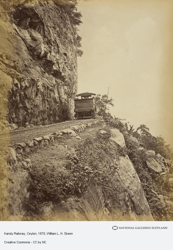 William L.H. Skeen, Kandy Railway, Ceylon