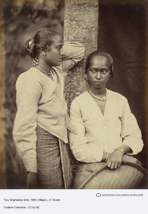William L.H. Skeen, Two Singhalese Girls