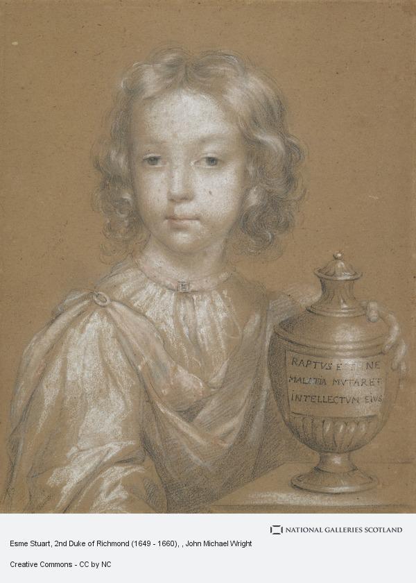 John Michael Wright, Esme Stuart, 2nd Duke of Richmond (1649 - 1660)
