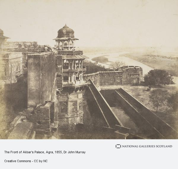 Dr John Murray, View from the Fort, Agra (About 1855)