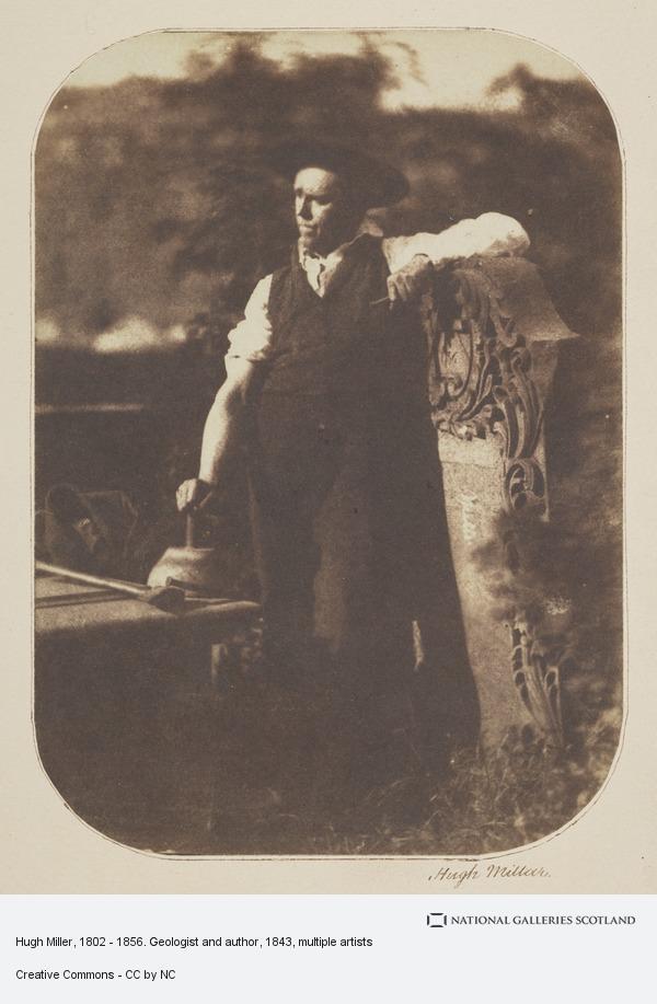 Robert Adamson, Hugh Miller, 1802 - 1856. Geologist and author (1843)