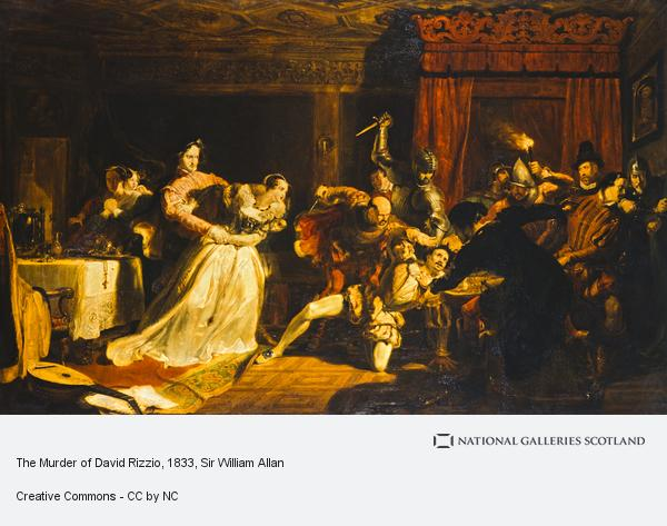 Sir William Allan, The Murder of David Rizzio