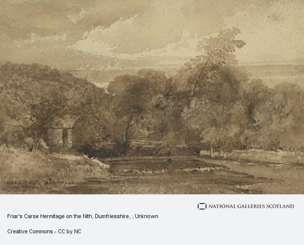 Unknown, Friar's Carse Hermitage on the Nith, Dumfriesshire
