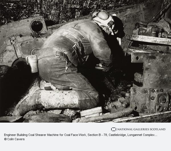 Colin Cavers, Engineer Building Coal Shearer Machine for Coal Face Work, Section B - 78, Castlebridge, Longannet Complex 2000