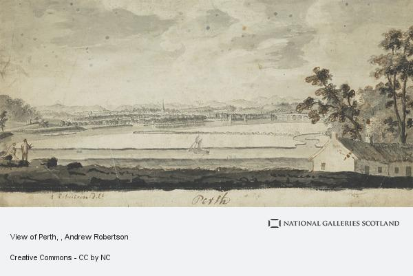 Andrew Robertson, View of Perth
