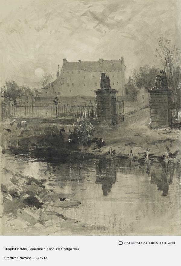 Sir George Reid, Traquair House, Peebleshire