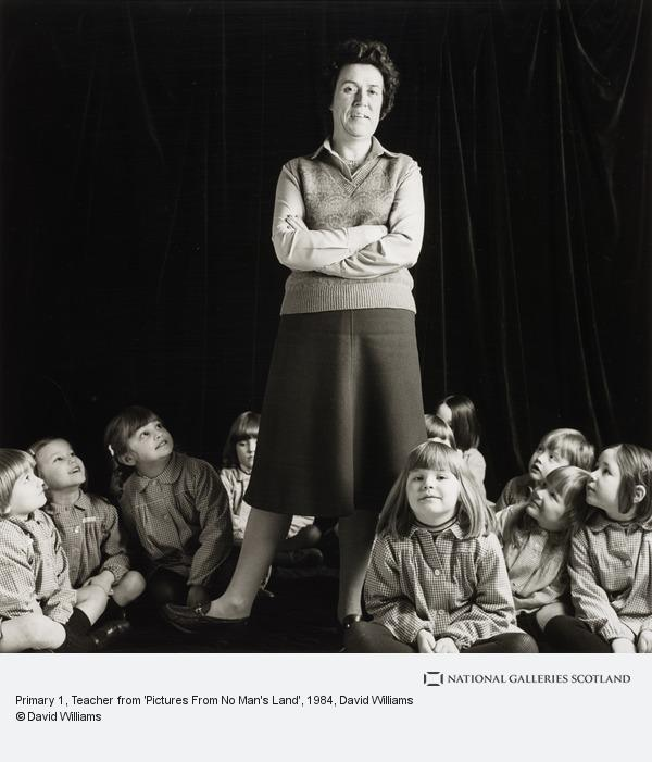 David Williams, Primary 1, Teacher from 'Pictures From No Man's Land'