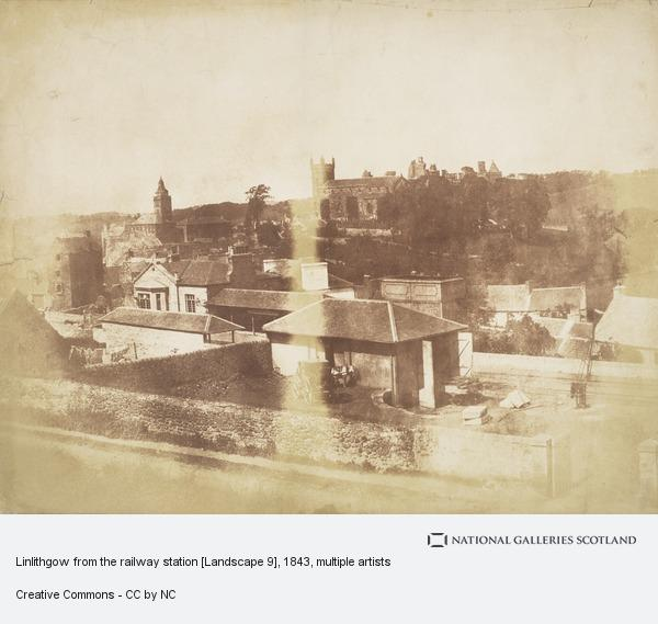 David Octavius Hill, Linlithgow from the railway station [Landscape 9]