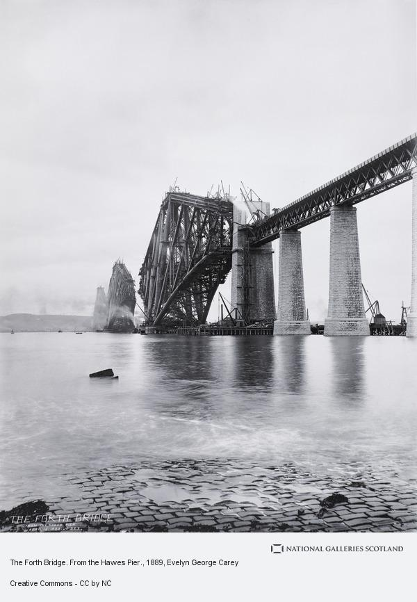 Evelyn George Carey, The Forth Bridge. From the Hawes Pier.