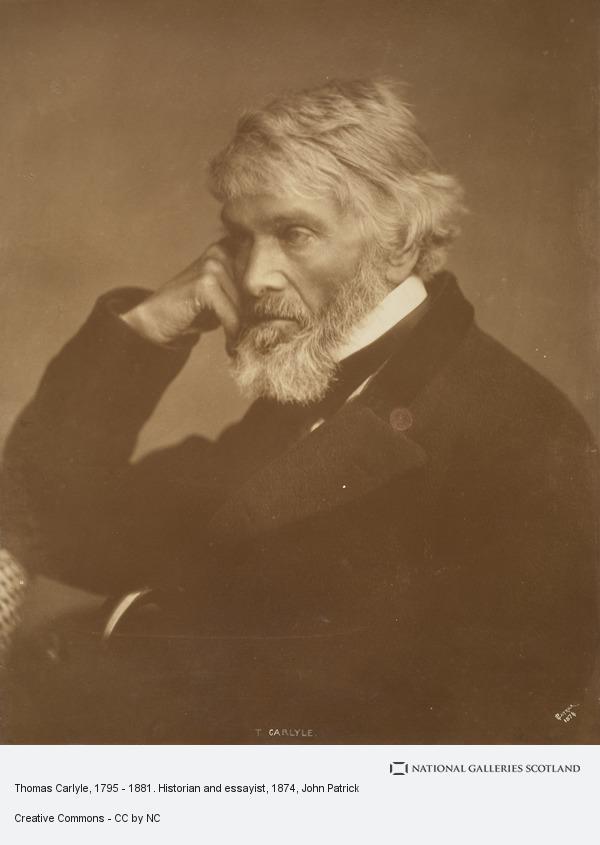 John Patrick, Thomas Carlyle, 1795 - 1881. Historian and essayist