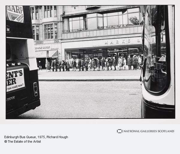 Richard Hough, Edinburgh Bus Queue