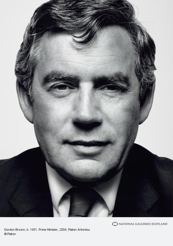 Platon Antoniou, Gordon Brown, b. 1951. Prime Minister