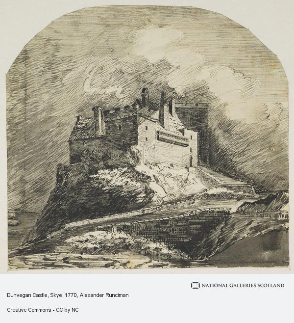 Alexander Runciman, Dunvegan Castle, Skye (1770)