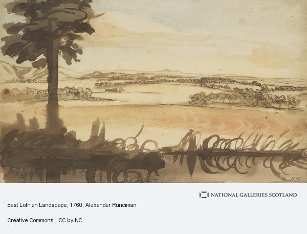 Alexander Runciman, East Lothian Landscape