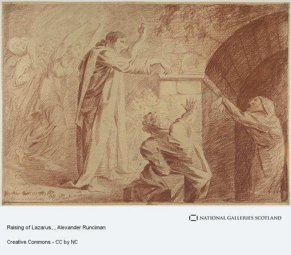 Alexander Runciman, Raising of Lazarus