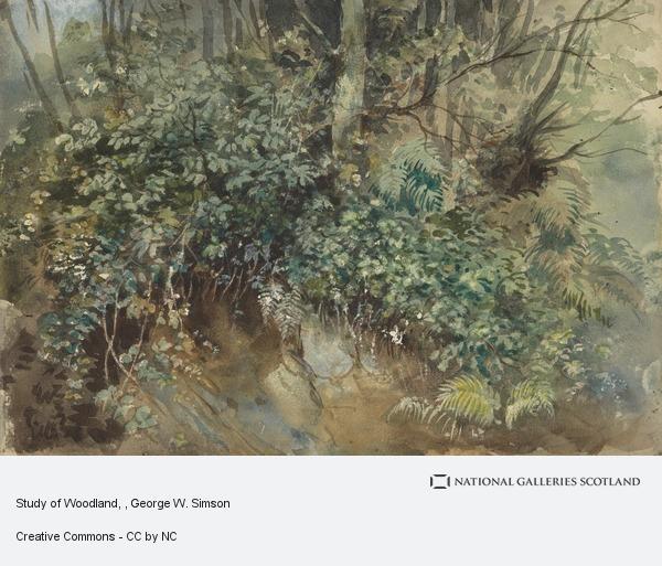 George W. Simson, Study of Woodland