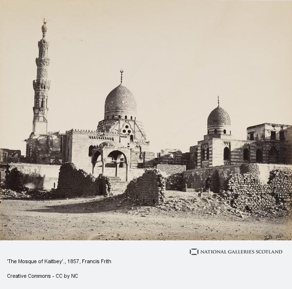 Francis Frith, 'The Mosque of Kaitbey'.