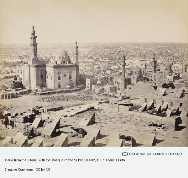 Francis Frith, 'Cairo from the Citadel with the Mosque of the Sultan Hasan'