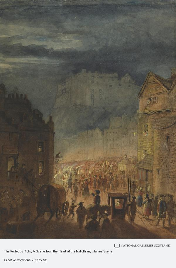 James Skene, The Porteous Riots, A Scene from the Heart of the Midlothian