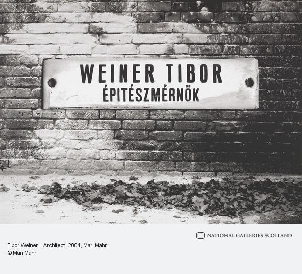 Mari Mahr, Tibor Weiner - Architect