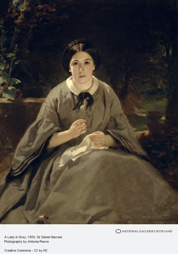 Sir Daniel Macnee, A Lady in Grey