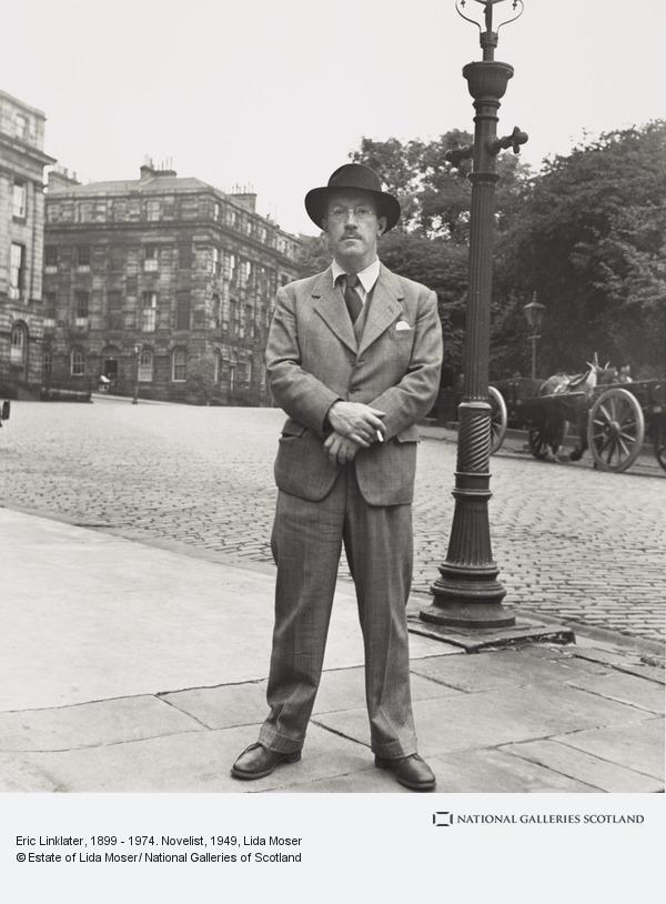 Lida Moser, Eric Linklater, 1899 - 1974. Novelist (1949)