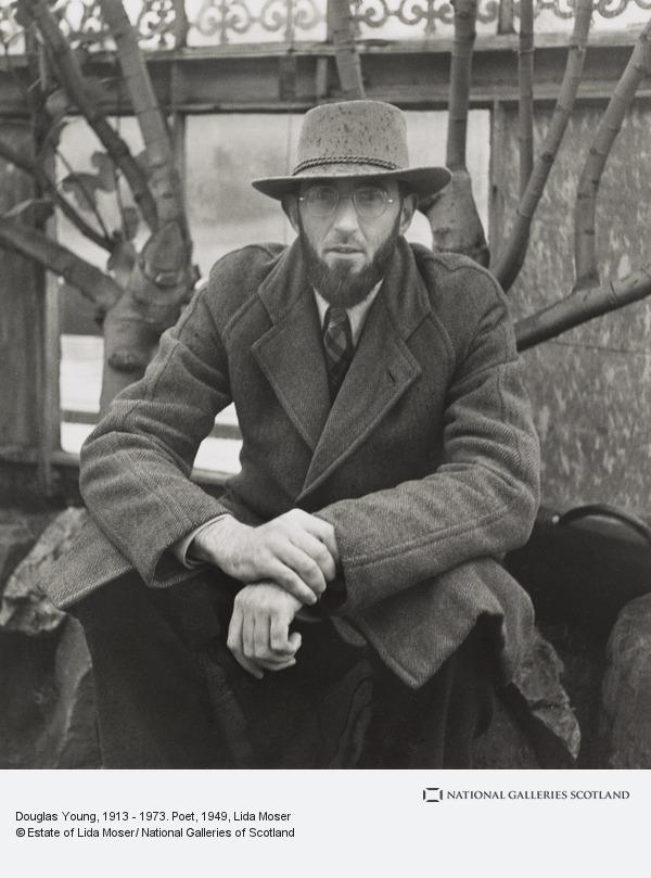Lida Moser, Douglas Young, 1913 - 1973. Poet