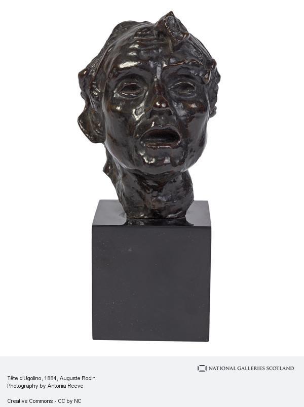 Auguste Rodin, Tête d'Ugolino