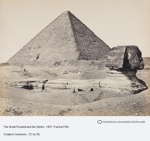 Francis Frith, The Great Pyramid and the Sphinx