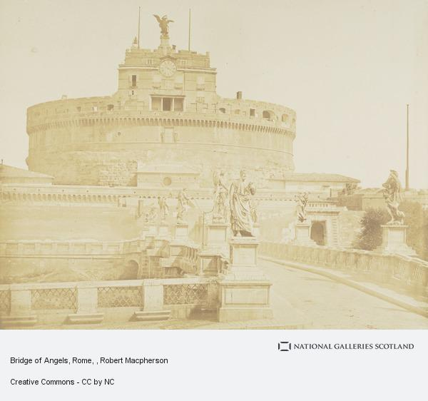 Robert Macpherson, Bridge of Angels, Rome
