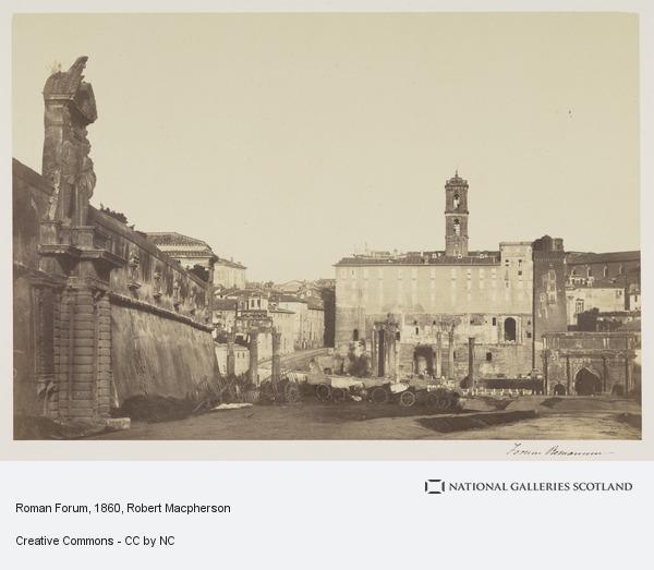 Robert Macpherson, Roman Forum