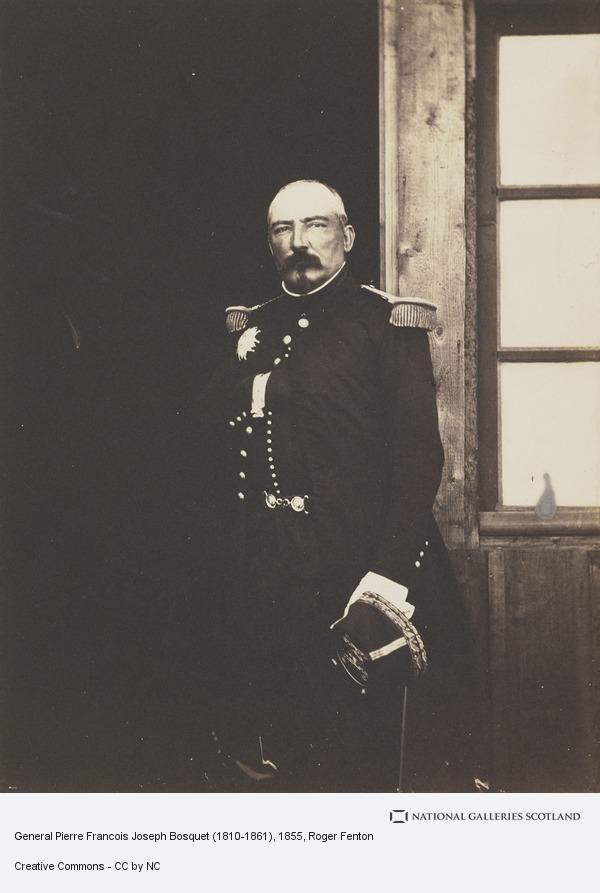 Roger Fenton, General Pierre Francois Joseph Bosquet (1810-1861)