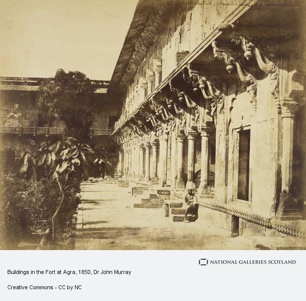 Dr John Murray, Buildings in the Fort at Agra