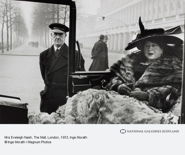 Inge Morath, Mrs Eveleigh Nash, The Mall, London, 1953