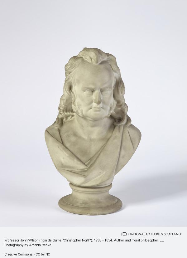 Unknown, Professor John Wilson (nom de plume, 'Christopher North'), 1785 - 1854. Author and moral philosopher