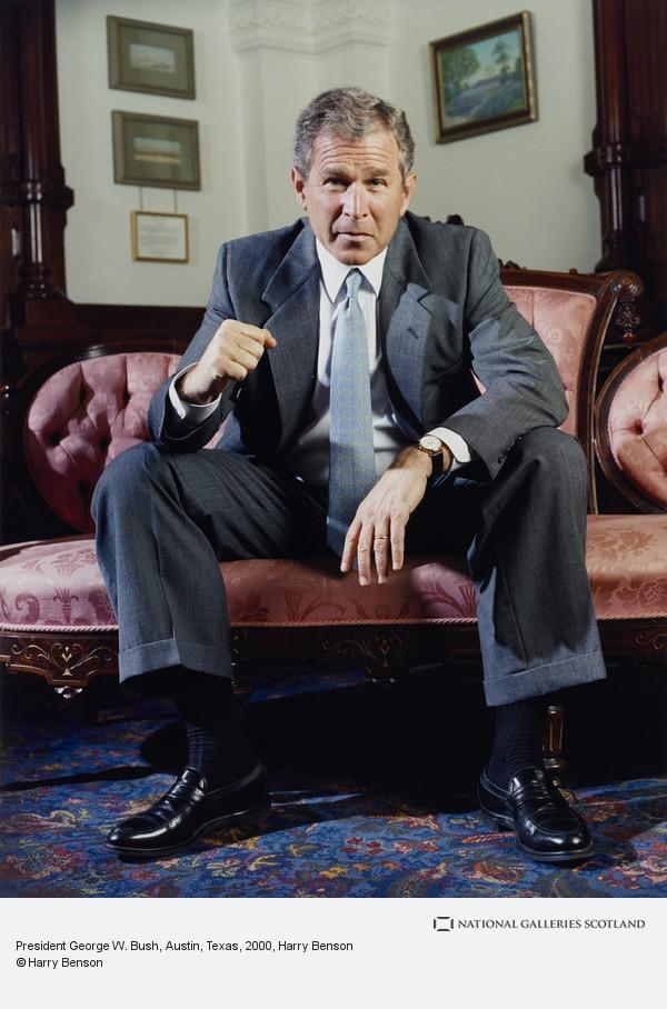 Harry Benson, President George W. Bush, Austin, Texas