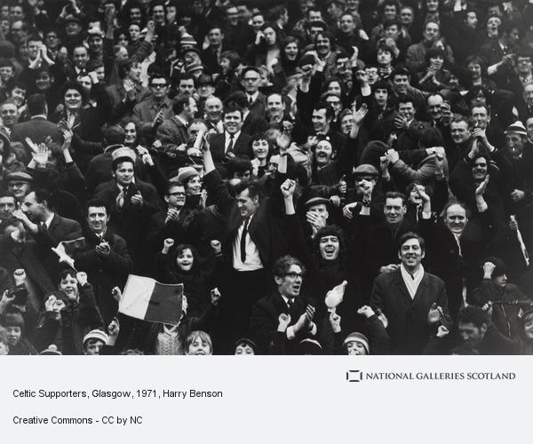Harry Benson, Celtic Supporters, Glasgow (1971 (printed 2007))