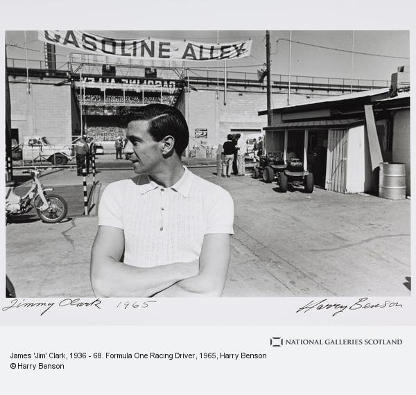 Harry Benson, James 'Jim' Clark, 1936 - 68. Formula One Racing Driver