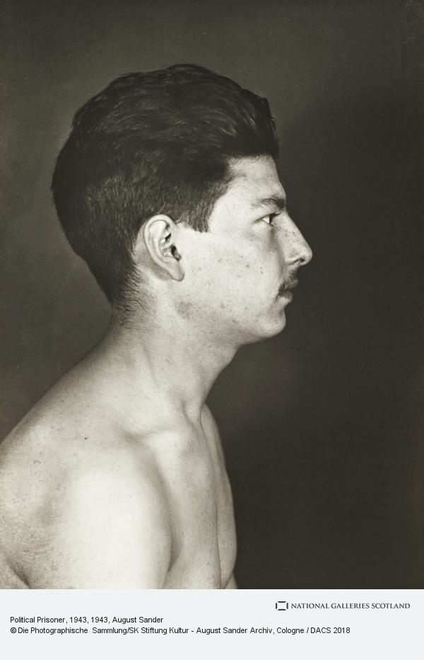 August Sander, Political Prisoner, 1943 (1943)