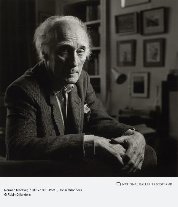 Robin Gillanders, Norman MacCaig, 1910 - 1996. Poet